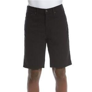 Levis 541Athletic Fit Black Denim Shorts